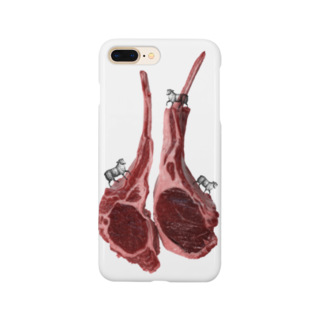 tottoの肉食/ラム×羊さん Smartphone cases