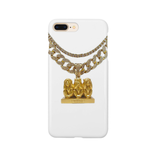 NIPPASHI SHOP™のSee no evil, hear no evil, speak no evil  Smartphone cases