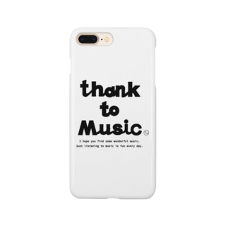 THANK TO MUSIC Smartphone cases