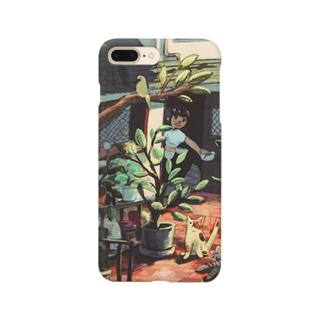 ねこおいで Smartphone cases