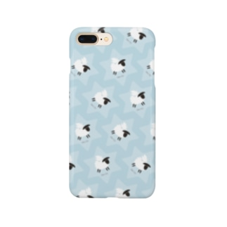 Dove on the Sheep [blue] Smartphone cases