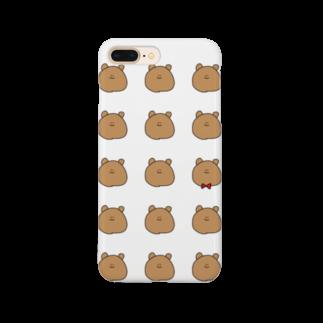 ライのくまちゃんがたくさん Smartphone cases
