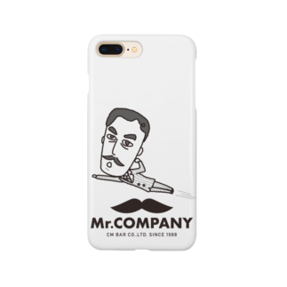 Mr.shopの飛んでるミスターフィギュア Smartphone cases