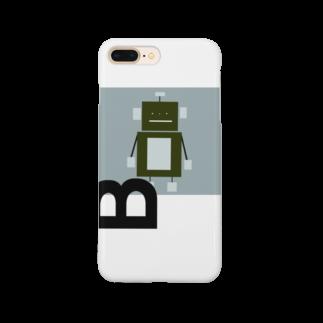 mashibuchiのロボットのB Smartphone cases