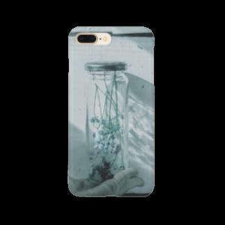 アリムラ アメ@アリネコのarineko_color ガラス×花 Smartphone cases