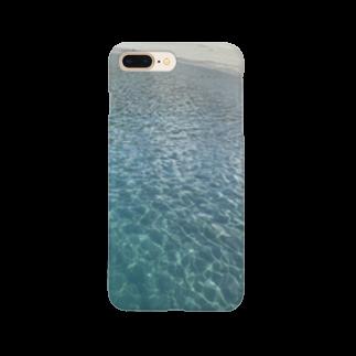 Aloma100の新島の海〜夏〜 Smartphone cases