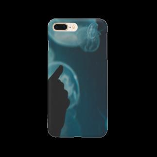 アリムラ アメ@アリネコのarineko_color クラゲ×人 Smartphone cases