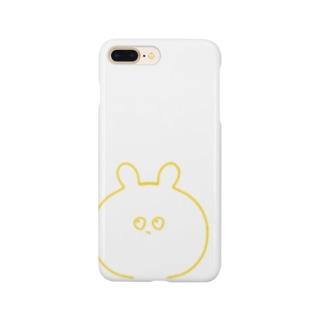 ふてぶてしいうさぎ Smartphone cases