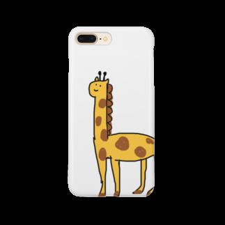 ライのきりんさん Smartphone cases