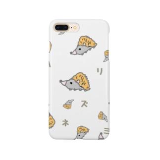 ハリネズミくん Smartphone cases