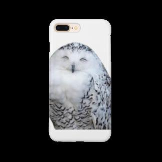 s_k_rの梟 Smartphone cases