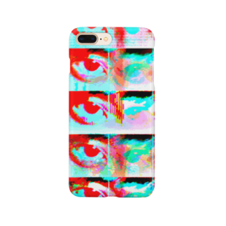 vapor__yujin__の友達の目です。イかしてるでしょ。 Smartphone cases