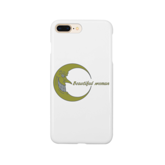 NOMAD-LAB The shopの月下美人(Beautiful woman) Smartphone cases