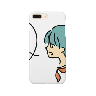 「〇✕△?」 Smartphone cases