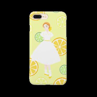 Pretty! showcase@SUZURI/まつもとめいこのハツコイソルベ Smartphone cases