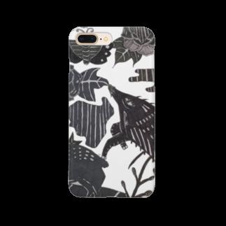 🔥Ryuu🔥絵描き師🔥依頼はDMください😄の猪鹿蝶 Smartphone cases