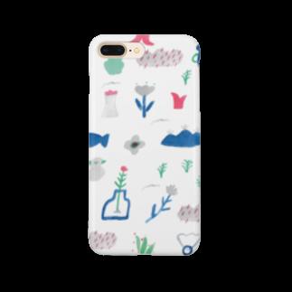 ISOSHOPのもよう 庭 Smartphone cases