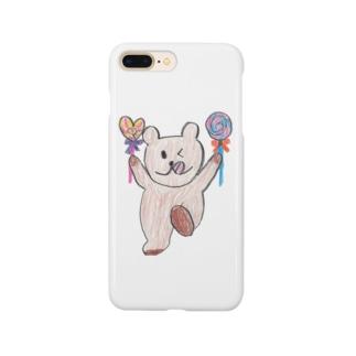 ハイなくま Smartphone cases