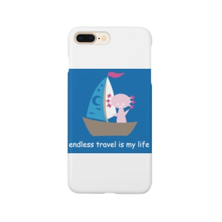endless travel ウパロートルさん Smartphone cases