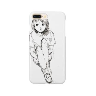 おすわり Smartphone cases