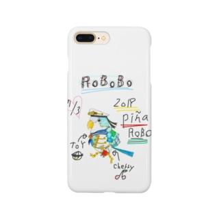 ROBOBO「ぴにゃロボ」 Smartphone cases