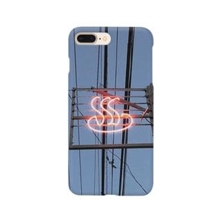 東京銭湯路線図 Smartphone cases