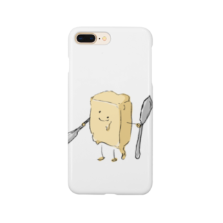 スペースさねぴのバターファイター Smartphone cases