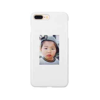 鼻水を垂れ流し憤る幼児T Smartphone cases