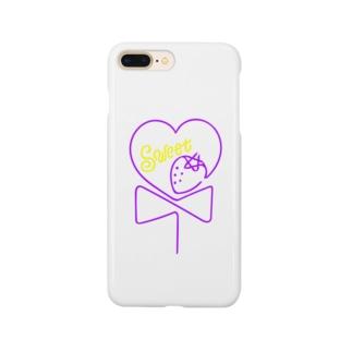いちごキャンディー Smartphone cases