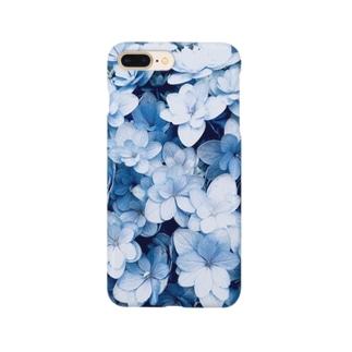 紫陽花① Smartphone cases