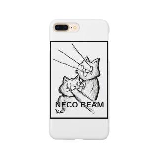 ねこビーム Smartphone cases