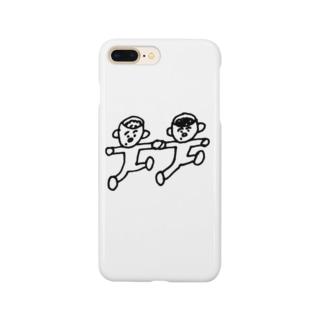 どんぶり兄弟 Smartphone cases