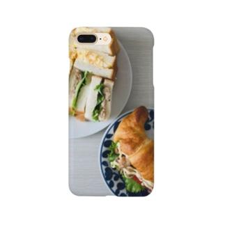 ある日のサンドウィッチ Smartphone cases
