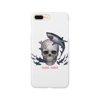 シャークパワー Smartphone cases