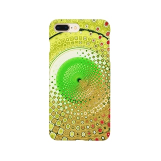 Yellow Greenの世界 in kaleidoscope Smartphone cases