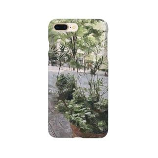 東京の景色シリーズ【丸の内】 Smartphone cases