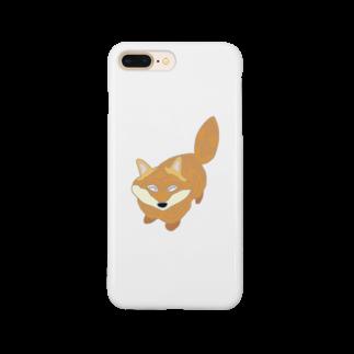 ぎょんすの寺子屋のきつね Smartphone cases