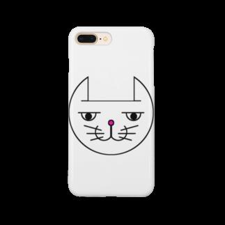ヒロさんのグッズのネコだお(カラー) Smartphone cases