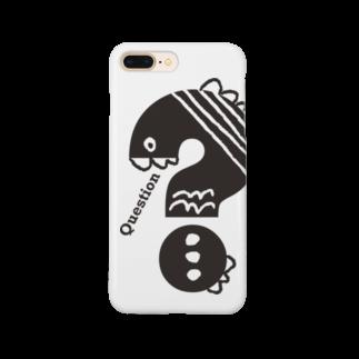 〈サチコヤマサキ〉ショップのクエスチョンの魚 Smartphone cases