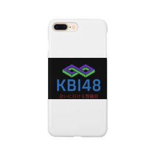 KBI SHOPのKBI48ブラックタグバージョン Smartphone cases