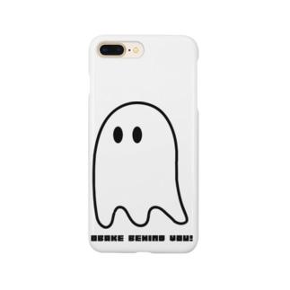 OBAKE BEHIND YOU Smartphone cases