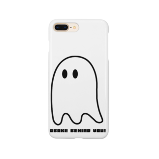 MymmyのOBAKE BEHIND YOU Smartphone cases