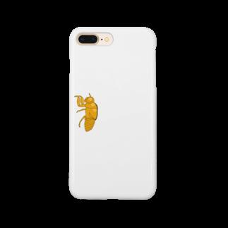 甘津 さえ(Amatsu Sae)のセミの抜け殻クン Smartphone cases