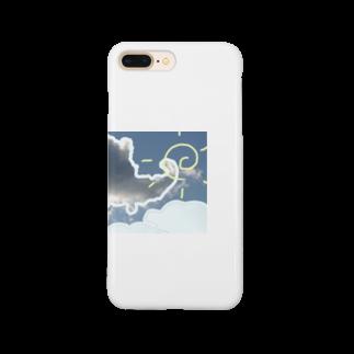 木口さんの晴れ曇り晴れ Smartphone cases
