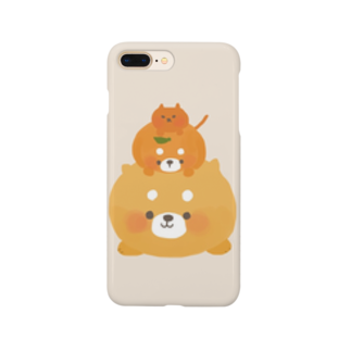 (   ᵔ(ᴥ)ᵔ   )のみかんつむつむ Smartphone cases