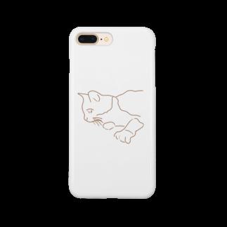 くまさんしょっぷ🐻のねこ (mo) Smartphone cases