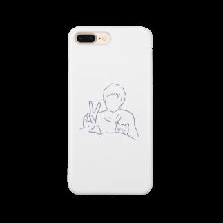 くまさんしょっぷ🐻のねこ と ぬし  Smartphone cases
