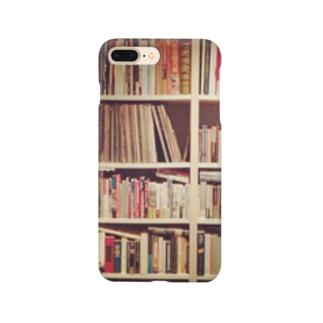 本棚を持ち歩く Smartphone cases