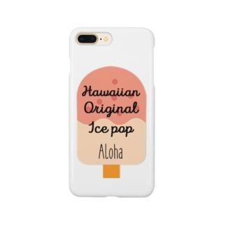 アイスバー(アロハ) Smartphone cases