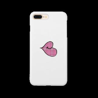 PianKのタータンチェックリップちゃん Smartphone cases